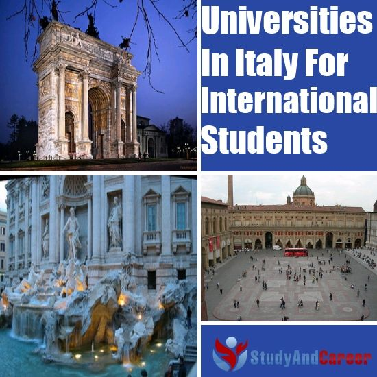 Best Universities In Italy For International Students
