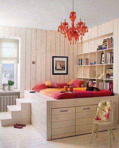 Alta con escalera | monoambiente | Pinterest | Escalera, Dormitorio ...