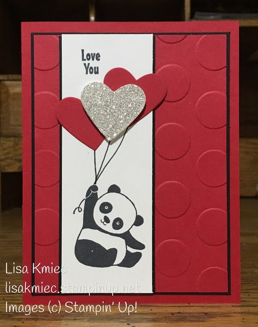 I Love You Party Panda Valentine Fodselsdag Og Kort