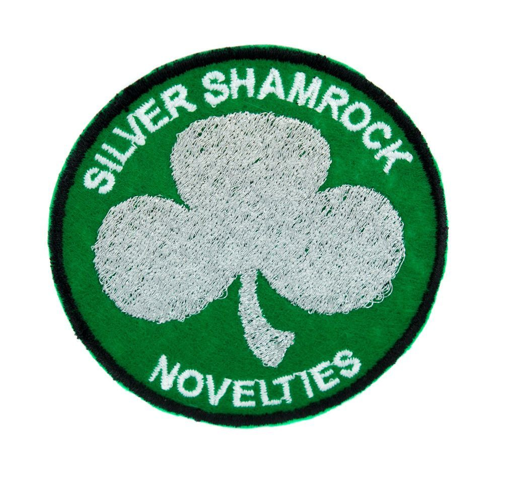 happy halloween- silver shamrock download