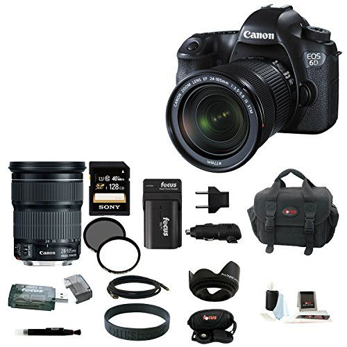 Introducing Canon EOS 6D 202MP Full Frame DSLR with EF 24105mm IS ...