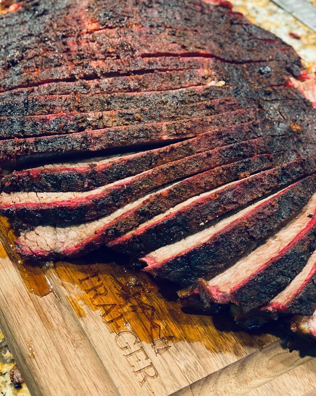 This brisket didn't disappoint like my chargers did on Sunday night. . . . .
