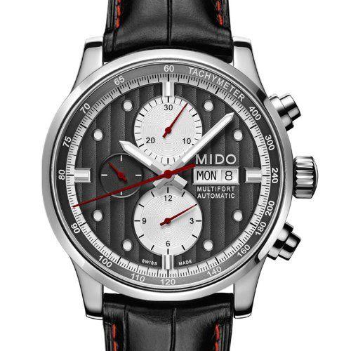 MIDO M0056141606122 - Reloj de pulsera hombre, piel, color negro: Amazon.es: Relojes