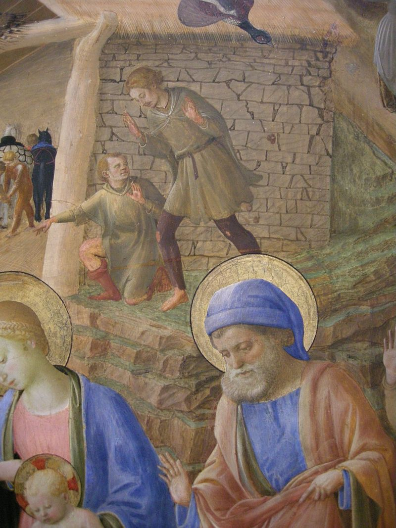 Filippo Lippi Fra Beato Angelico - Adorazione Dei Magi