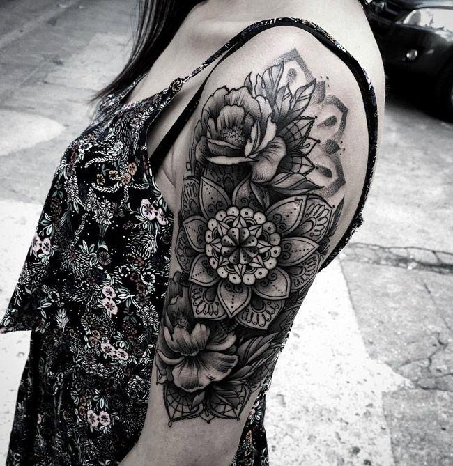 Tattoo By Laurajadetattoos Laura: Tattoo Ideen, Schulter