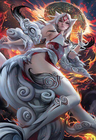 Photo of Poster «Amaterasu» par Realsakimichan