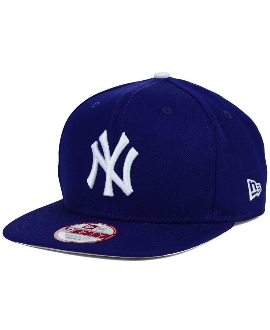 2e92bff5998 New Era New York Yankees Twisted Original Fit 9FIFTY Snapback Cap ...
