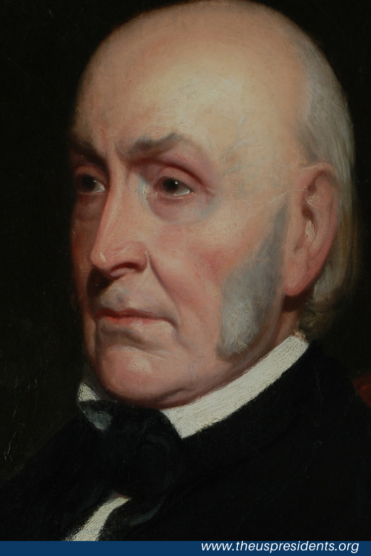 Was john quincy adams gay