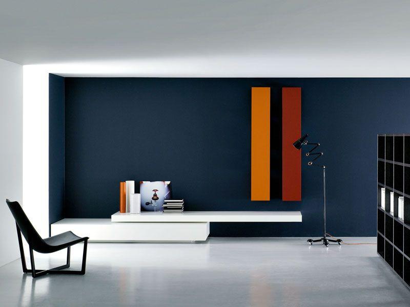 Wohnwand modern  Bildergebnis für wohnwand holz modern | A_TV Wand | Pinterest