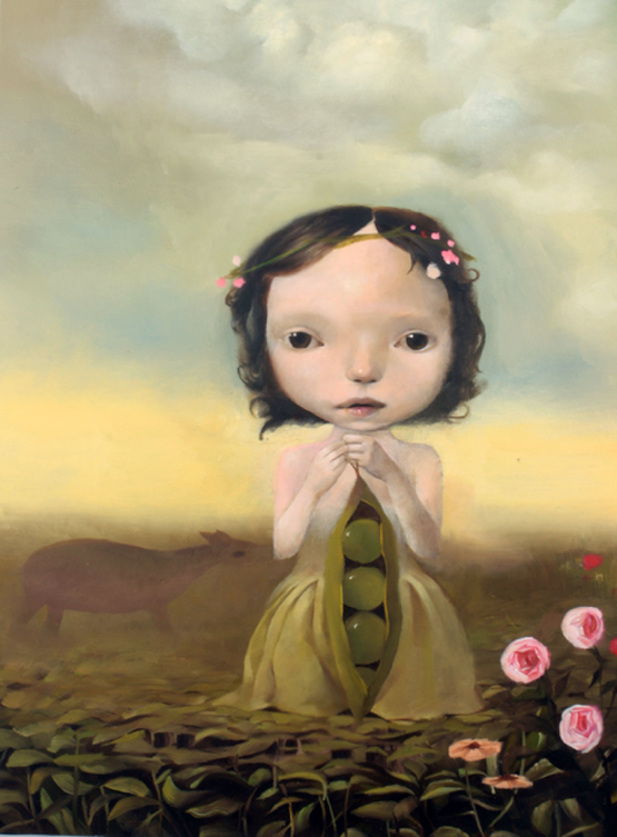 Surrealism and Visionary art: Aniela Sobieski