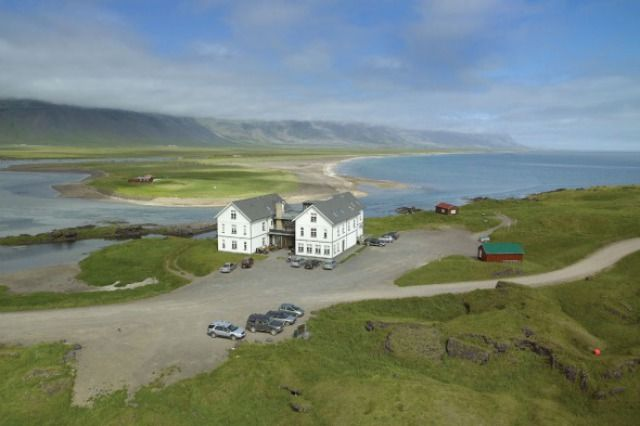 Hotel Budir In The Snaefellsnes Peninsula Of West Iceland Via Spotted Sf Wanderlist Europe Pinterest Cafe And Interiors