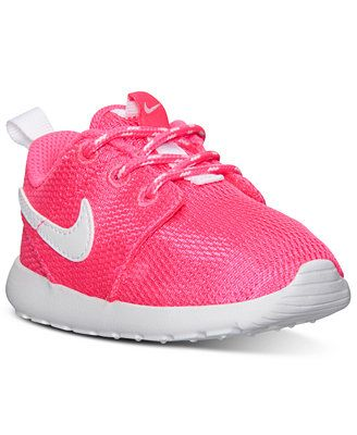 a10c804d79 Nike Toddler Girls' Roshe Run Casual Sneakers from Finish Line ...