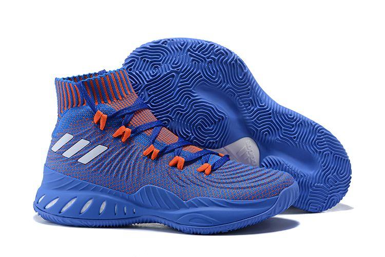 premium selection 63d64 62410 adidas Crazy Explosive 2017 PE Royal Blue Orange Men s Size