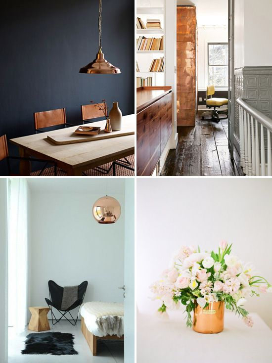 Decorating With Copper | 24 Hot Home Décor Ideas With Copper