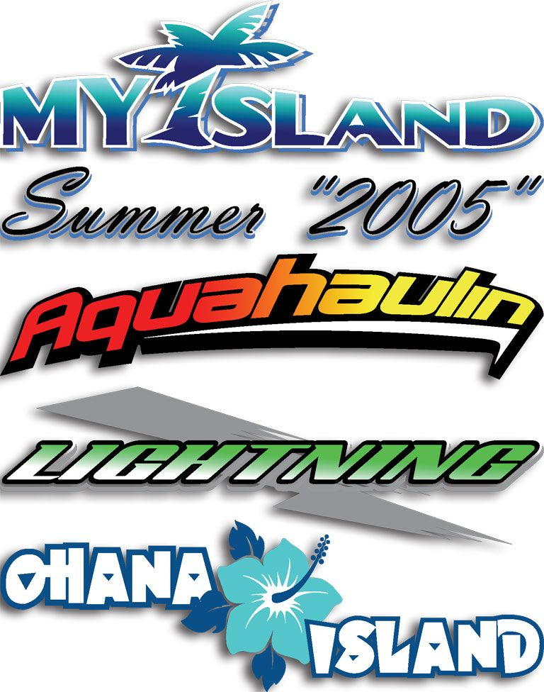 Lettering For Watercraft Boat Name Decals Jet Ski Graphics Jet - Vinyl letter stickers for boats