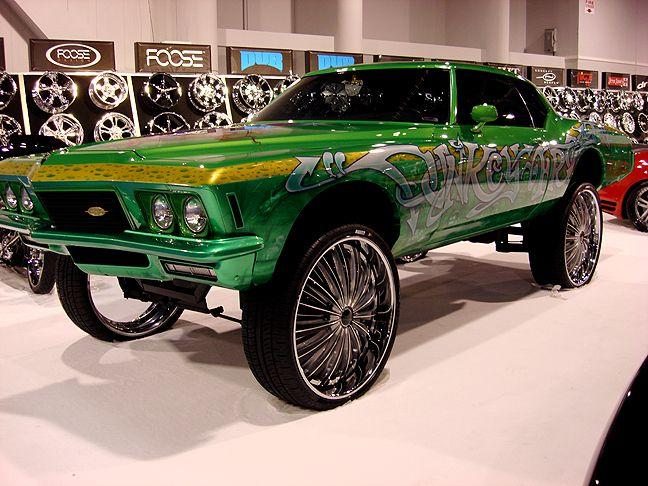 Donkey Frog 1970s Buick Riviera Engines Wheels