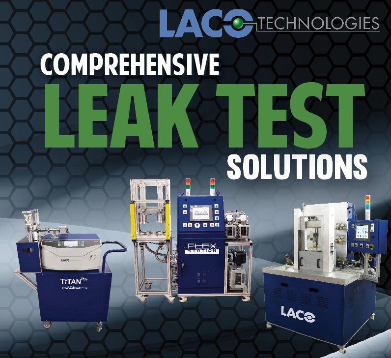 Pin by LACO Technologies on Leak Testing Solutions in 2020