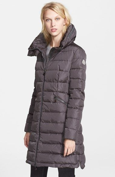 c8fc5235b Moncler 'Flamme' Pillow Collar Down Coat available at #Nordstrom ...