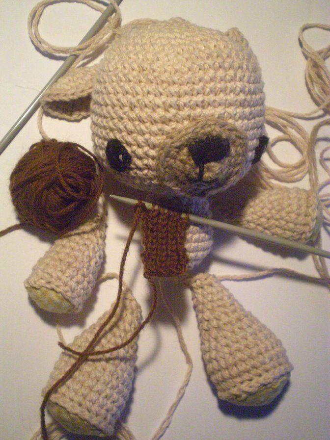 Contemporáneo Patrón De Crochet Oso De Peluche Composición - Ideas ...