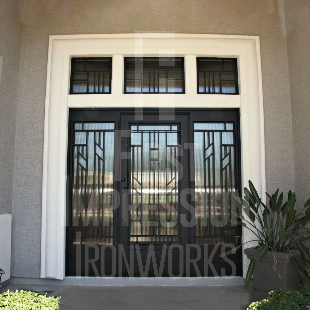 Canyon Iron Entry Door Iron Entry Doors Entry Doors Steel Entry Doors