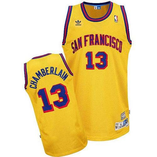 Wilt Chamberlain jersey-Buy 100% official Adidas Wilt Chamberlain Men s  Swingman San Francisco Gold Jersey Throwback NBA Golden State Warriors  13  Free ... 9cf43fdf3