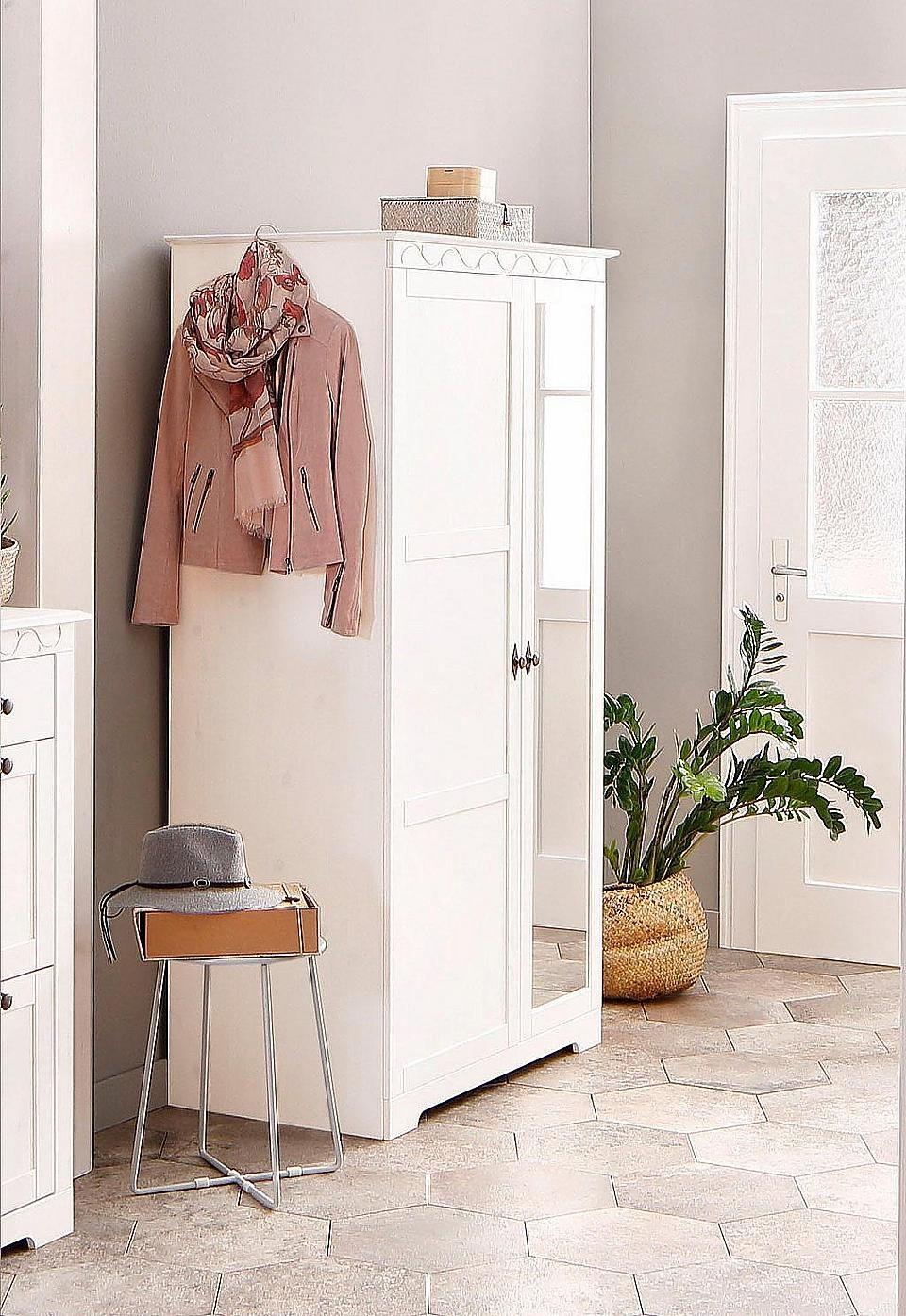 Home Affaire Garderobenschrank Bei Baur De Kaufen Einrichten Homedecor Diele Flur Eingangsbereich Garderobe Schrank Garderobenschrank Design Fur Zuhause