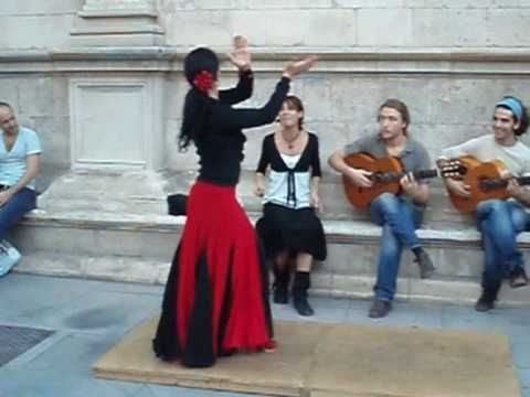 Street Flamenco (full performance), Sevilla, Spain-Beautiful vid, really gives the idea of how flamenco (like hip hop, even ballet) probably came about.....