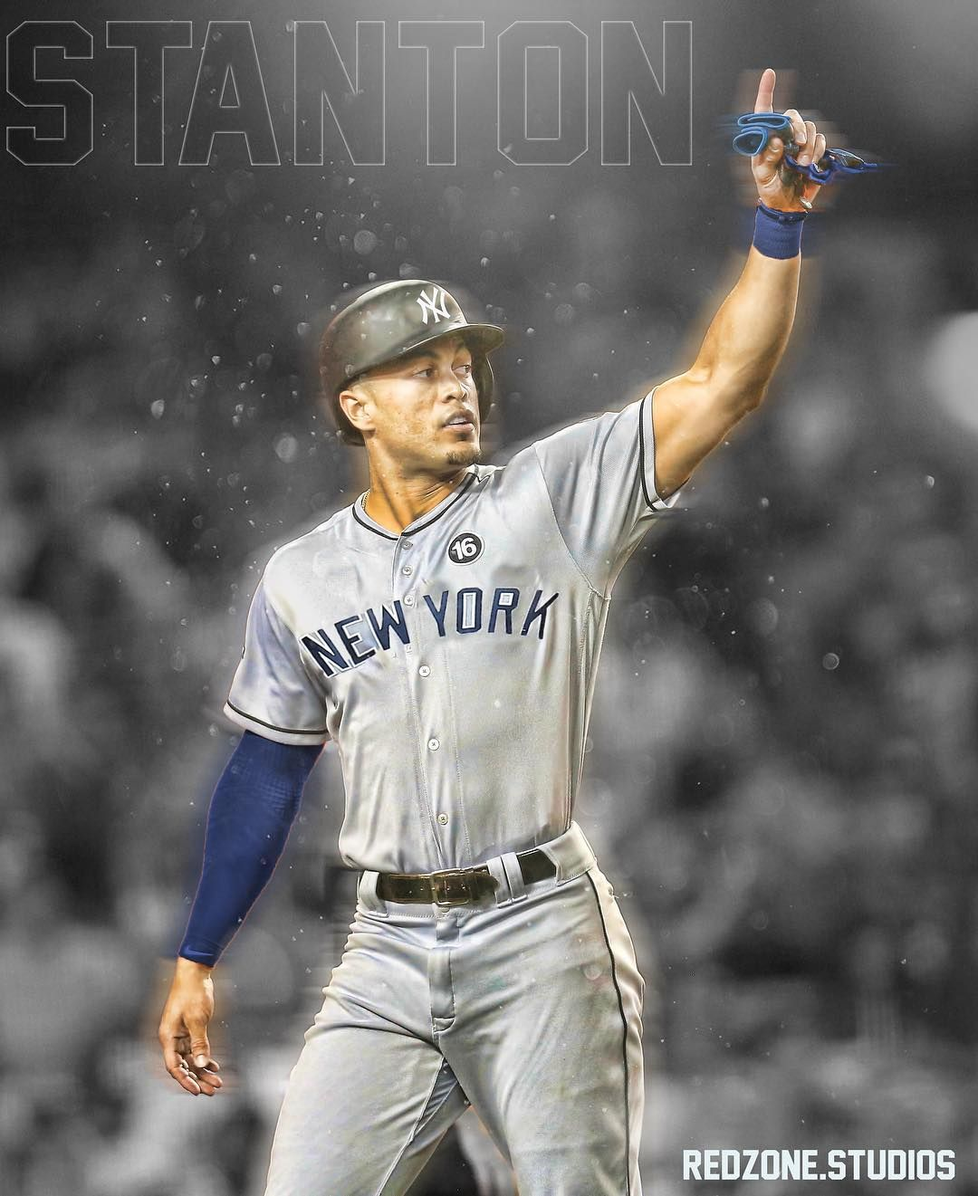 Made This A While Back What Yall Think Mlb Mlbtheshow Baseball Newyork Newyorkyankees Yankees Giancarlost Yankees Baseball Ny Yankees New York Yankees
