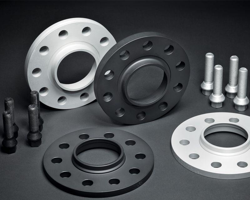 5x114.3//64.1//12x1.5//Black H/&R 25mm DRM Bolt-On Wheel Spacers Honda//Acura