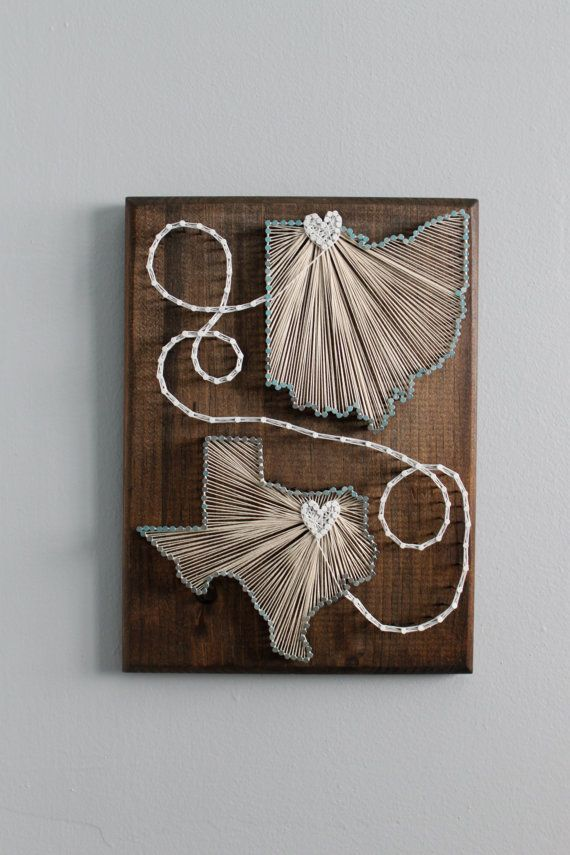 String art two states google search gifts to make or give string art two states i e w tx and mt prinsesfo Image collections