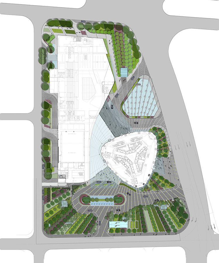 four seasons hotel landscape architecture plans pinterest