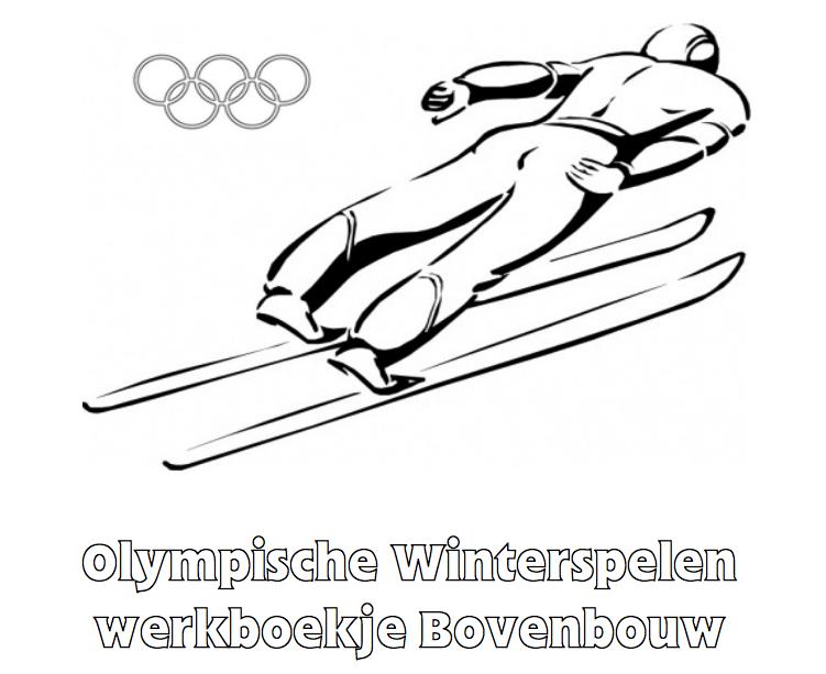Olympische Spelen Werkboekje Bovenbouw