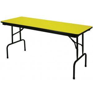 Colored School Folding Table Pedestal Legs 60x24 Folding Tables Folding Table Rectangular Table Rectangular