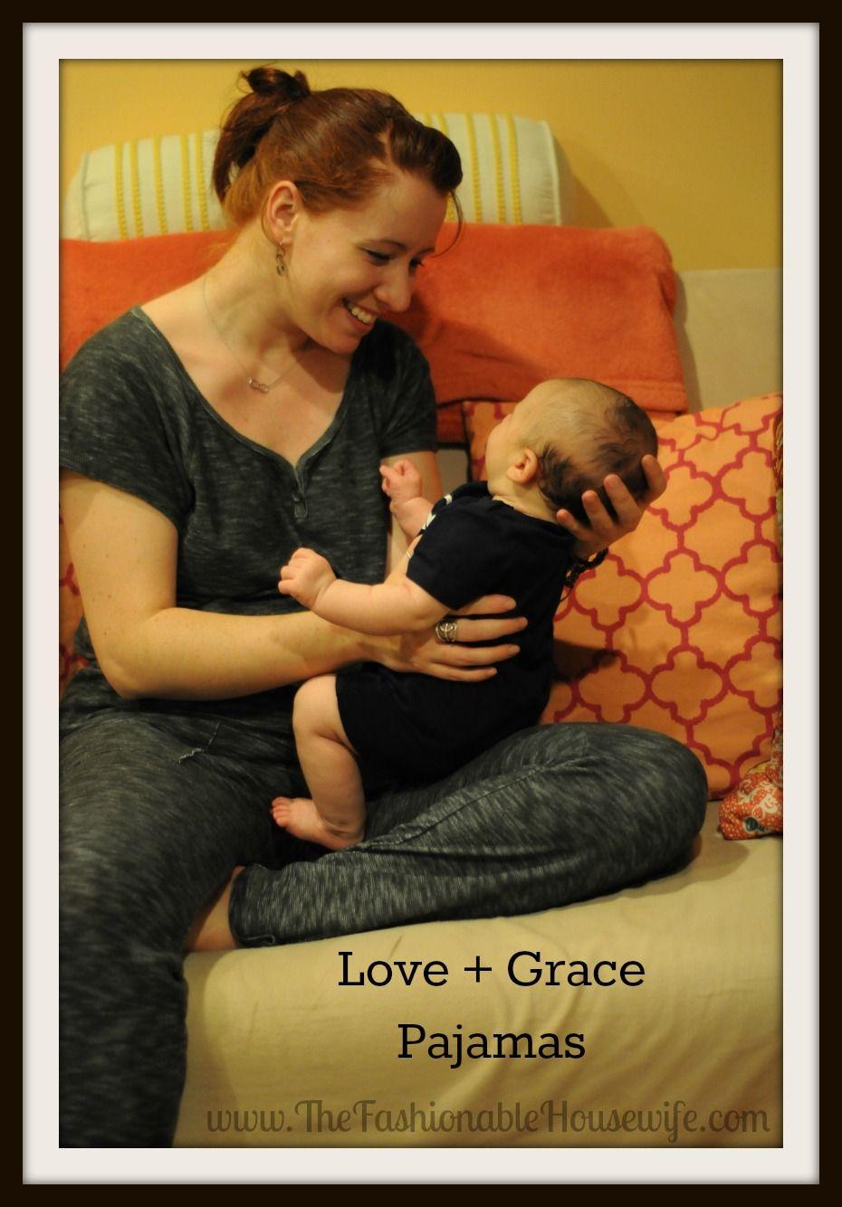 Love grace ud fashionable comfortable pajamas lovegrace