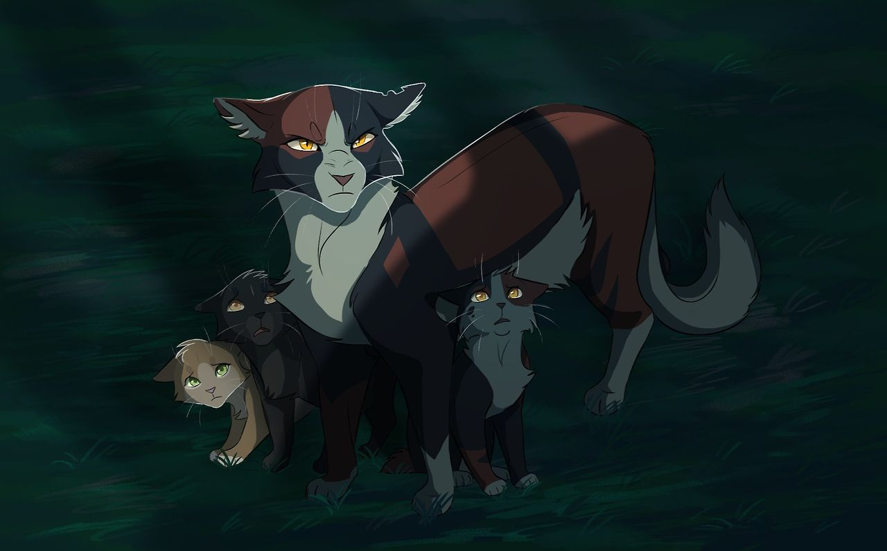 Snowfur And Bluestar Art By Tordkin With Images Warrior Cats