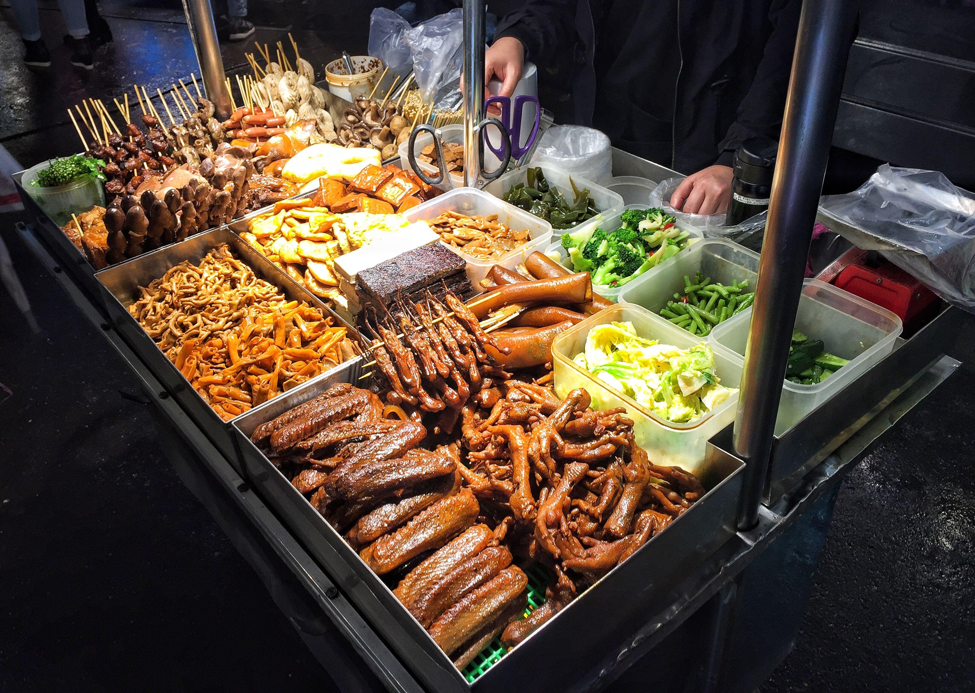 Shilin Night Market Taipei Street Food Makanan Dan Minuman Ide Makanan Makanan Jalanan