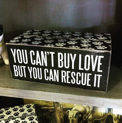 We love our rescue animals @midtownmarket1. Come see our selection of paw friendly merchandise Monday-Saturday 10am-5pm. We are located at 2616 E. 11th St. Tulsa OK 74104. Call us at 918.607.4817. #youcantbuylovebutyoucanrescueit #humanesociety #rescuedog #tulsaboutique #tulsa #boutique #midtownmarkettulsa #midtownmarket #shoplocal #route66