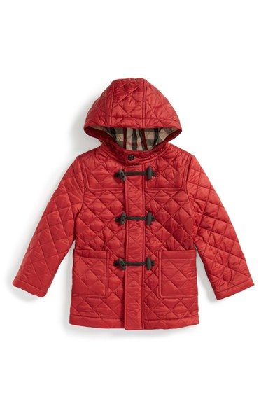 Burberry Boris Quilted Hooded Jacket Toddler Girls Hooded Jacket Toddler Girl Jackets