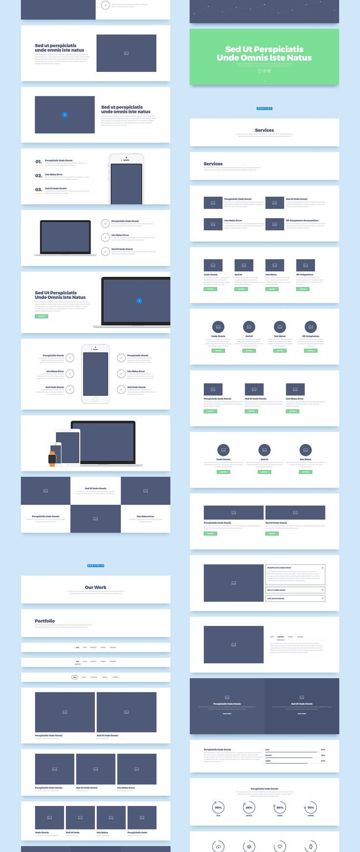 Created for quick and easy web prototyping  Consis    - #Consis