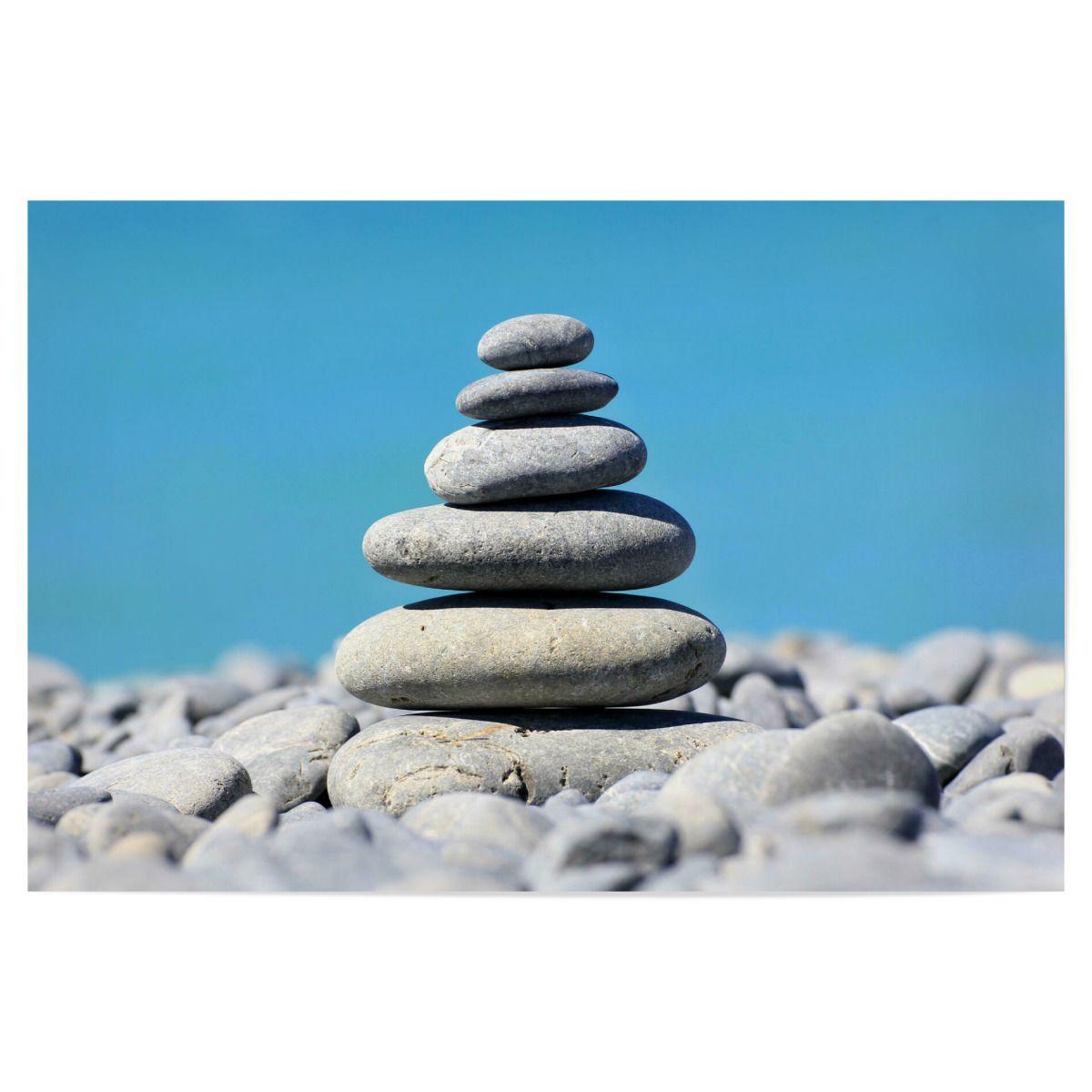 In der Ruhe liegt die Kraft als Poster bei artboxONE kaufen   Ruhe ...
