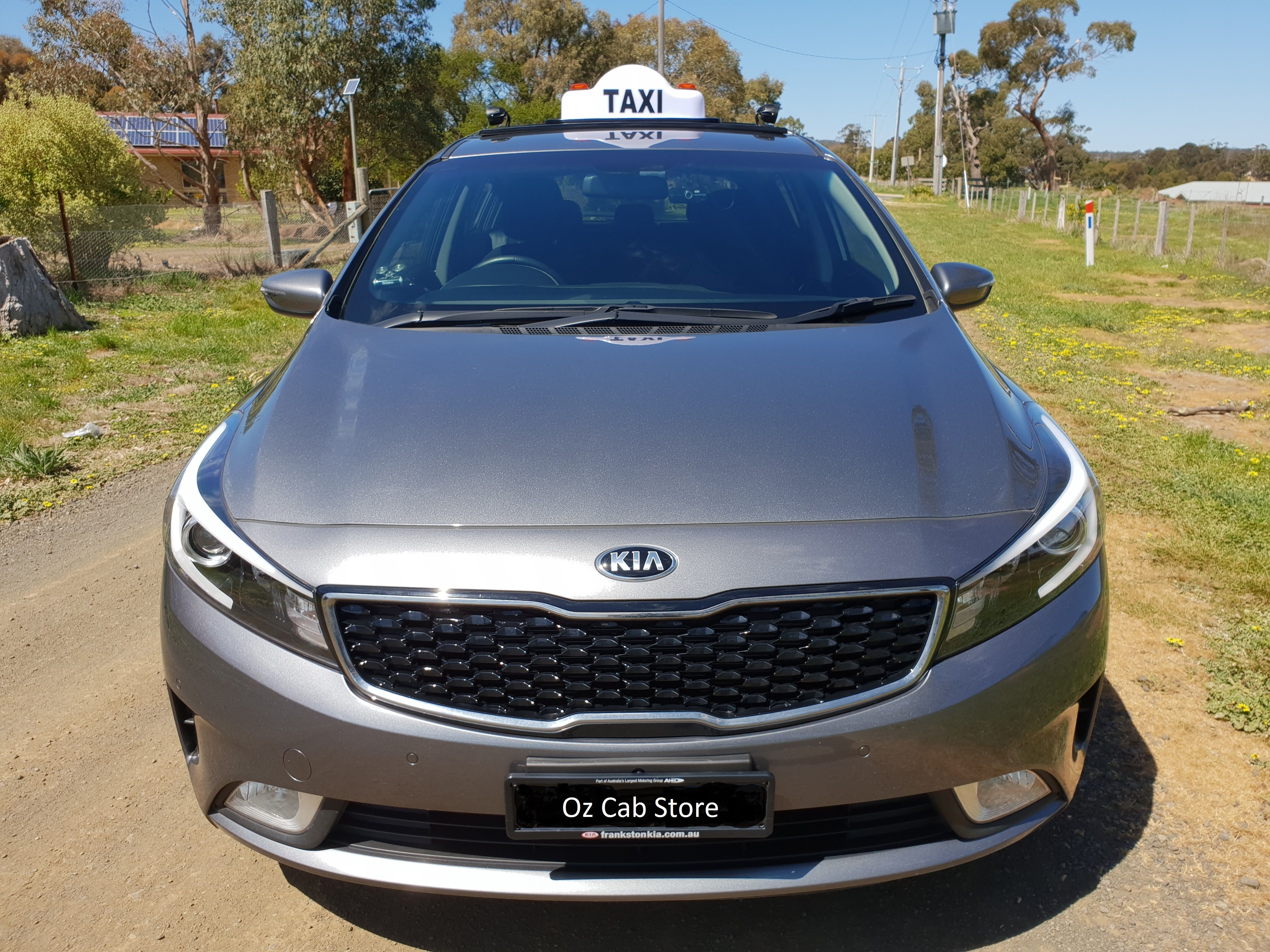 Martin Taxi Roof Rack Fitted To 2018 Kia Cerato Taxi Rideshare