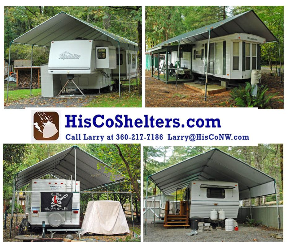 We Finally Finished The Rv Carport: Make-Your-Own Portable Carport Shelter Kits.**Long Lasting