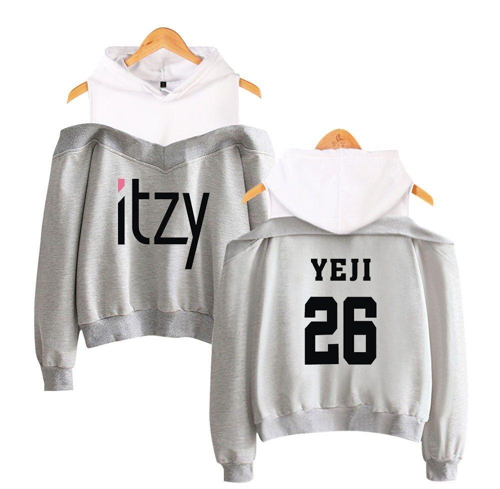 Xkpopfans Kpop ITZY Hoodie Sweater Its me Baseball Jersey Lia YeJi RyuJin Yuna Jacket Coats