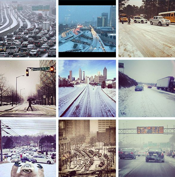 Atlanta's Winter Storm: The Commute From Hell