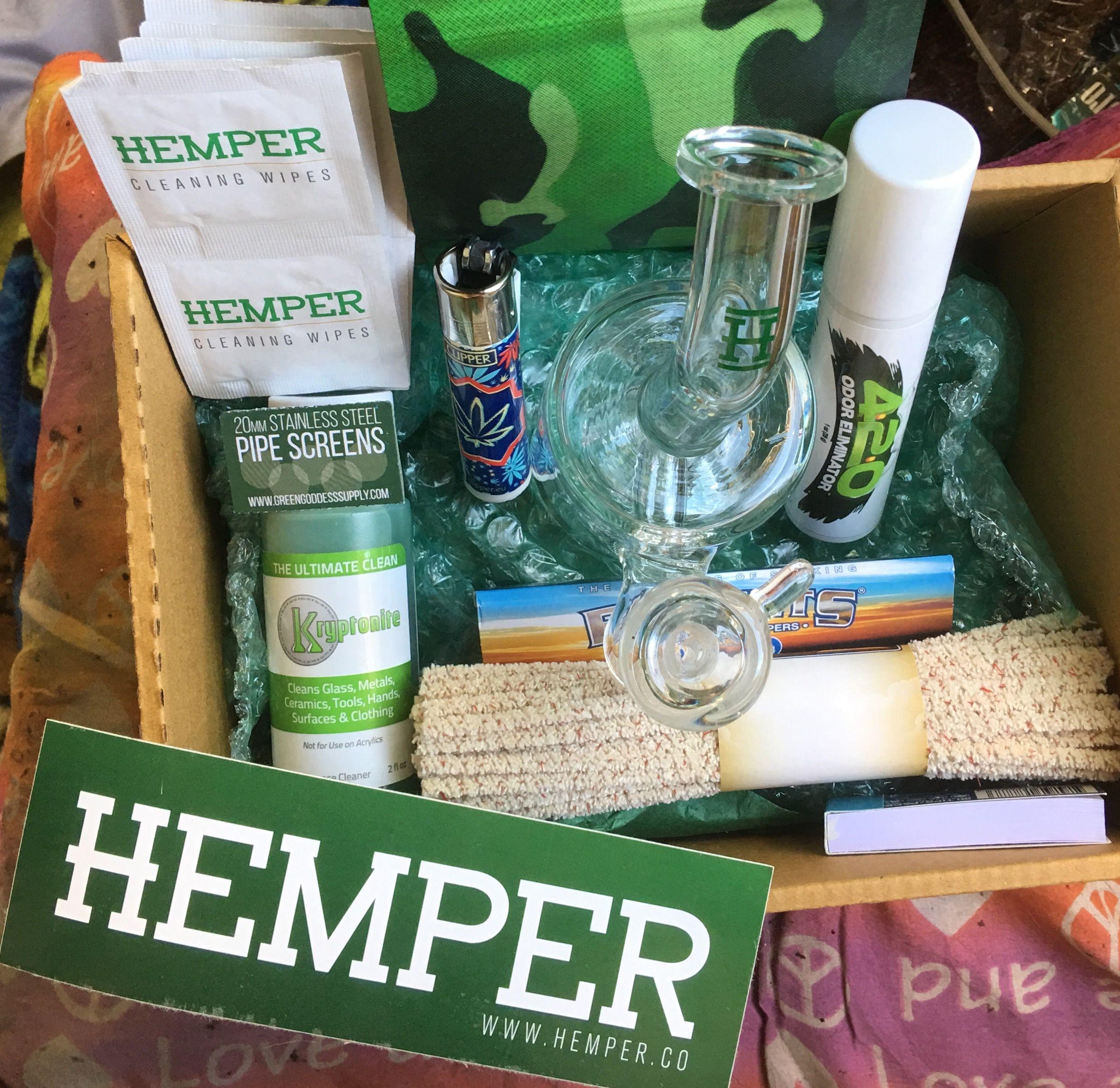 Got my first Hemper Box! LOVE it!! #hemperbox