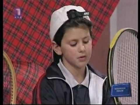 7 Years Old Novak Djokovic This Kid Asks Djokovic What Is Your Ultimate Goal In Tennis Novak Answers My Goal Is To B Novak Djokovic Tennis Novak đokovic