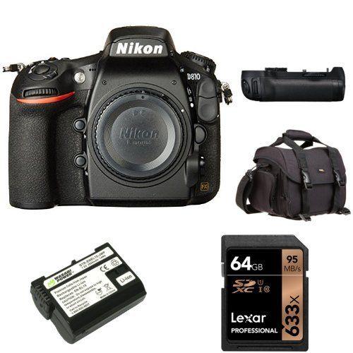 Nikon D810 FX-format Digital SLR Camera Body with 18-140mm