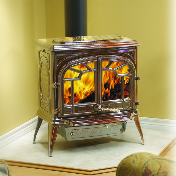 Napoleon 1600CN-1 Cast Iron Wood Burning Stove - Brown | WoodlandDirect.com: - Napoleon 1600CN-1 Cast Iron Wood Burning Stove - Brown