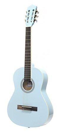 Darling Diva - Darling Diva DDPKG03BL Acoustic Guitar, Powder Blue