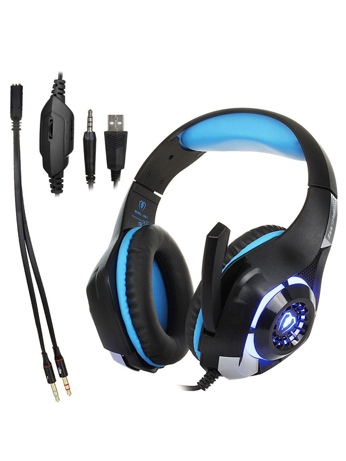 Loalirando Gaming Headset Headphone Surround Earphone Stereo With Mic For Pc Ps4 Xbox One A Walmart Com Xbox One Headset Gaming Headset Gaming Headphones